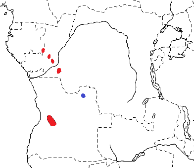 Black-chinned Weaver map