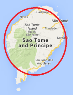 Sao Tome Weaver map